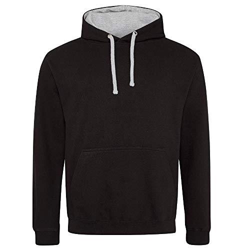 Jet Gris Sweat Black Varsity chiné Hoods à Black Just capuche couleurs 2 Inconnu zfq7gEwxx