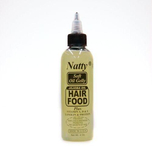 - Natty Jojoba Oil Hair Food 4oz [SEALED]