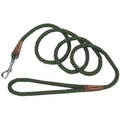 Remington Coastal Pet R0206 GRN06 Rope Leash, 72-Inch, Green