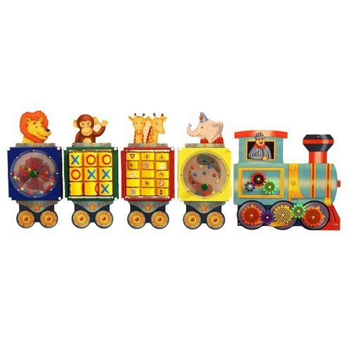Busy Train Activity Wall Panel - 1