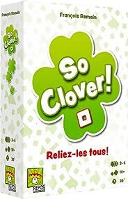 So Clover (Version Française) Un jeu coopératif de Repo Production |3 à 6 joueurs |Un jeu pour la famille | Du