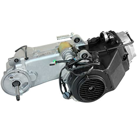 Corto caso 150 cc GY6 4 tiempos motor W/CVT Transmisión Eléctrica Starter refrigerado por