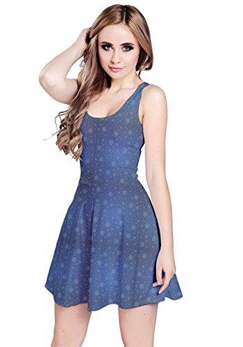 CowCow - Vestido - para mujer Starry Sky
