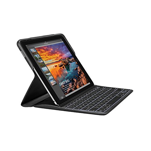 Logitech Create Backlit Keyboard Case with Smart Connector for iPad Pro 9.7' ONLY! (Will not fit Other Models) - Bulk Packaging - Black