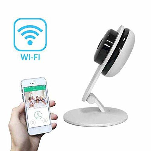 Network Kugel ip kamera Alarmanlagen Die Beste Leistung Einfache Netzwerkverbindung ,drahtlos ,Wifi ip kamera Alarmanlagen mit Karteschlitz für 64GB Mikro SD,unterstützt iPhone/Android/Tablet,Pan/Tilt
