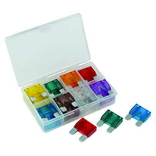 24 Pieces Maxi Blade Fuse Assortment - Zinc Electrodes