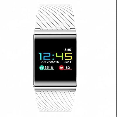 Pulsera Deportiva Monitor de Actividad,Pulsera Reloj Inteligente con Actividad Tracker Monitor de Calorías y Sueño Notificación Despertador contador de ...