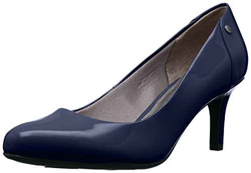 LifeStride Women's Lively Dress Pump, lux Navy, 10 M US