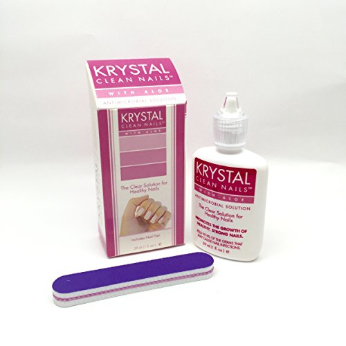 Krystal Clean Nails - Antimicrobial Solution (With Aloe)