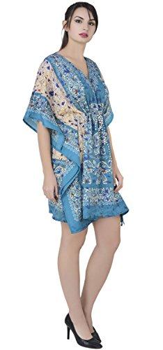 SKAVIJ Kaftan Túnica Kimono Túnica Vestido de Las Señoras de Las Mujeres de Noche Maxi Party Más Tamaño