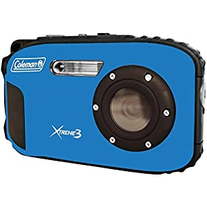 Coleman C9WP-BL Xtreme3 20 MP Waterproof Digital Camera with Full 1080p HD Video (Blue)