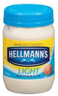 HELLMANN'S MAYONNAISE LIGHT 30 OZ JAR