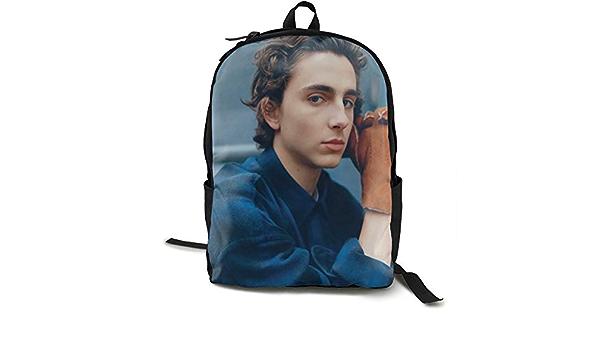 ZEMIOF Timothee Chalamet Laptop Backpack Durable Laptops Backpack Water Resistant College School Computer Bag Gifts for Men /& Women Fits 15 Inch Notebook