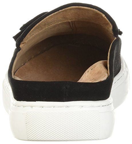 Gentle Souls Women's Rory Slip On Mule With Tassel Sneaker Black DZ0c2F4e