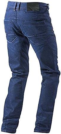 2XL JET Pantalon Moto Homme Jeans Kevlar Aramid avec Armure Bleu, 54 Longue//Taille 38 Longueur 34