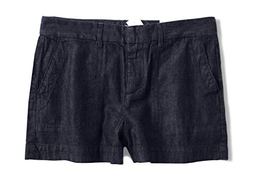 Ann Taylor LOFT Women's 3 Inch Dark Rinse Denim Shorts (4)