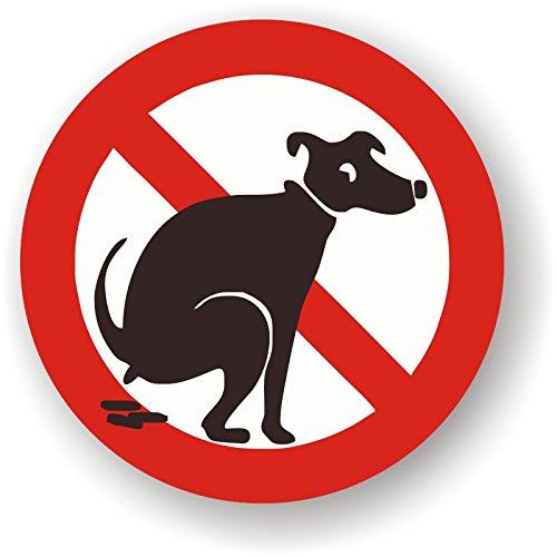 Panneau interdiction aux chiens de faire caca - Que faire des crottes de chien dans son jardin ...