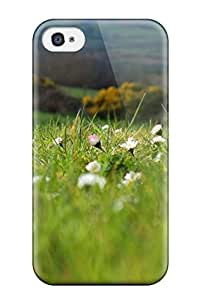 1560080K34384423 New Flower Protective Iphone 4/4s Classic Hardshell Case