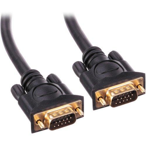Pearstone 1.5' Premium VGA Male to Male Cable