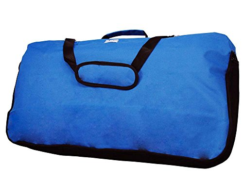 Tahoe Saddle Blankets Pads Carry Bag Mesh Sides, Royal Blue, X-Large