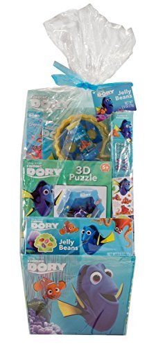 Disney Finding Dory Deluxe Easter Basket Filled with Candy and Toy Disney Easter Baskets