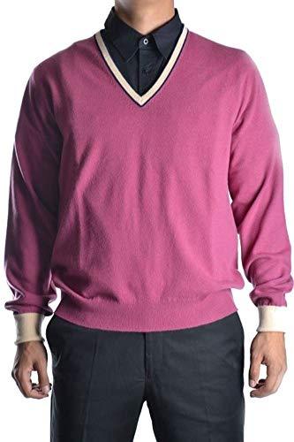 Ballantyne Men's Mcbi10918 Pink Cashmere Sweater