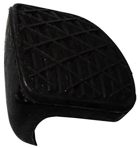 Aerzetix: rubberen afdekking pedaal rempedaal pedaalbedekking voor autoremmen auto compatibel met 2012920082