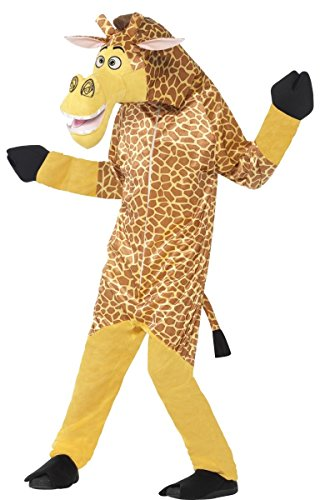 Official Madagascar Melman Giraffe Animal TV Film World Book Day Week Carnival Festival Parade Onesie Fun Fancy Dress Costume Outfit (4-6 years)]()
