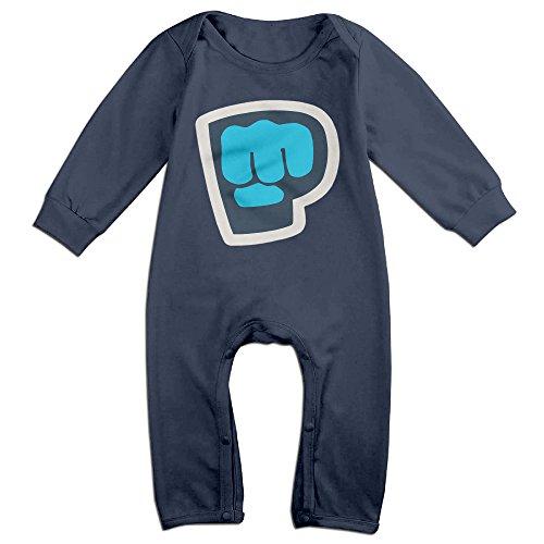 mmo-j-newborn-babys-pewdiepie-brofist-long-sleeve-bodysuit-outfits-navy-size-6-m