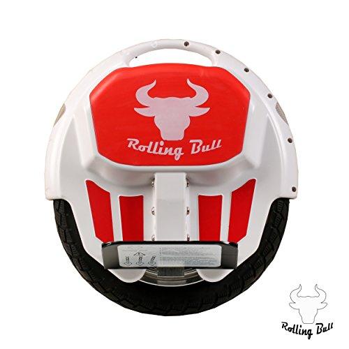 RollingBull Elektro-Einrad E-wheel X7white bis 30KM Reichweite + LED-Lichter