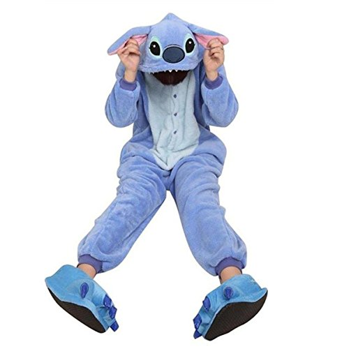 [MUMUBREAL Adult Animal Cosplay Costume Sleeping Wear Pajamas Medium Blue] (Costumes With Mumus)