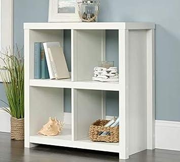 Amazon.com: Ebe Design- Cubed Shelf Storage-Wood Four Open ...