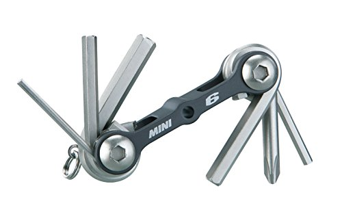 Price comparison product image Topeak Mini 6 Folding Tool (2.6x 1.1x0.7-Inch)