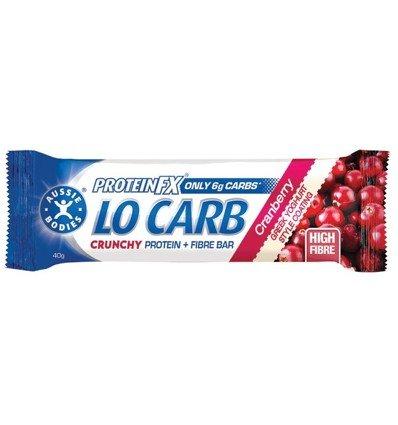 Aussie Bodies Crunch Vanilla Cranberry 40g x 12
