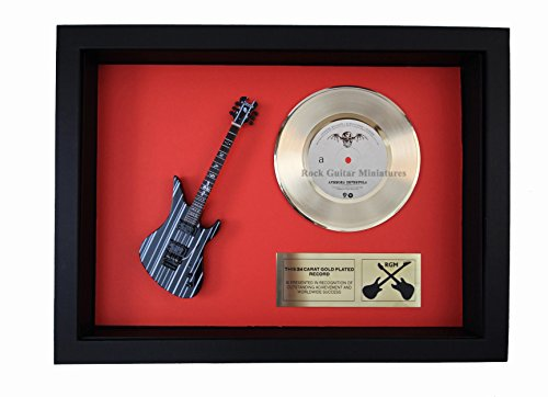 RGM1401 Avenged Sevenfold Gold Disc - 24 Carat Gold Plated 7
