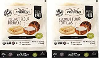 product image for The Real Coconut 12 Tortillas Coconut Flour 7.6oz (6 Pack)
