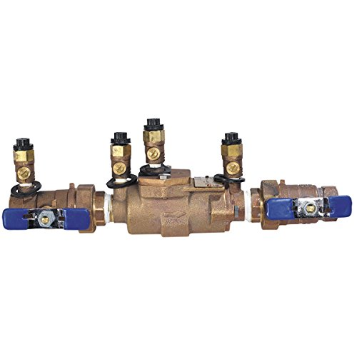 Febco 0122964 LF850U-QT Double Check Backflow Valve with Union Connections Quarter Turn Shutoff 3//4