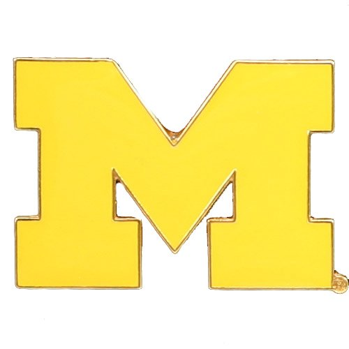 Logo Pin - aminco NCAA Michigan Wolverines Logo Pin