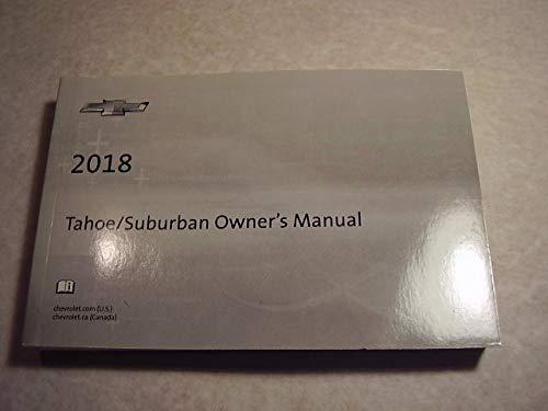 2018 Chevrolet Tahoe, Suburban Owners Manual