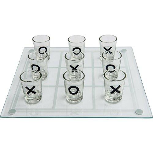 (Maxam SPTTT Tic Tac Toe Game (Design 1, 1) Shot Glass)