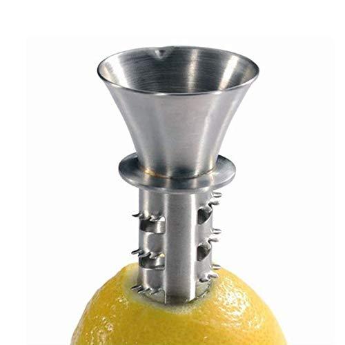 Citrus Lemon Juicer Squeezer Hand Press Stainless Steel Manual Reamer, Quick To Get Fresh Juice Every-Time Fruits Tools (Lemon juicer)