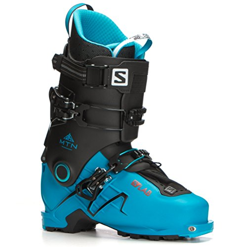 - Salomon S/Lab MTN Alpine Touring Boots - 29.5/Translucent Blue-Black