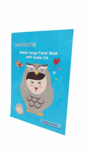 Halloween Costumes Based Off Books (2 Mask Sheets of Watsons Animal Design Facial Mask with Double HA (Hyaluronic acid). Applying facial mask can be super fun with various skincare benefits. (23 ml essence/ sheet.))