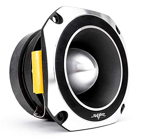 Skar Audio VX4-ST 4-Inch 600 Watt High Compression Titanium Bullet Super Tweeter, ()
