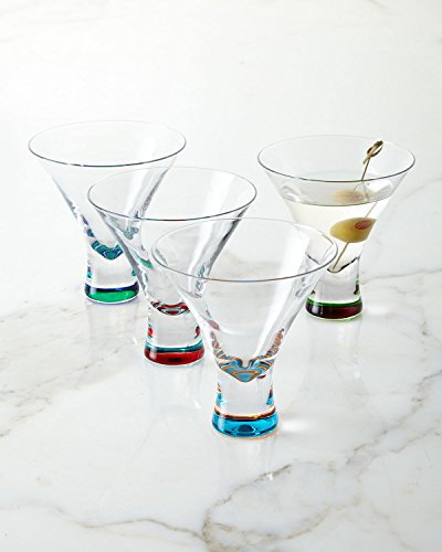 DKNY Urban Essentials Barware Martini, Set Of 4 by DKNY