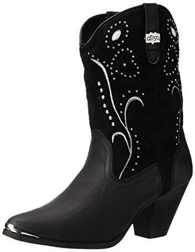 Dingo Women's Ava Western Boot,Black,8 M US