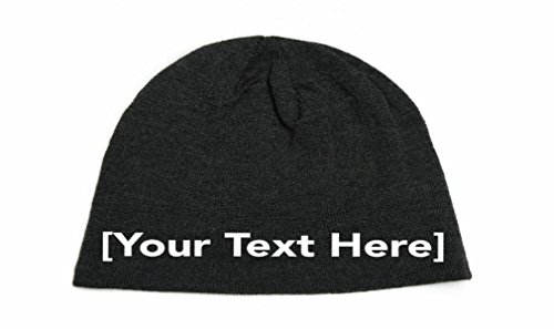 Personalized Beanie - Slouchy Beanie with Custom Text Embroidered