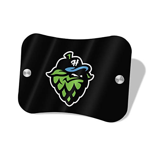 (Door Sign Hillsboro Hops Logo Wall Decorative Signs Plaques for Offices Hotels Stores Home Decor)