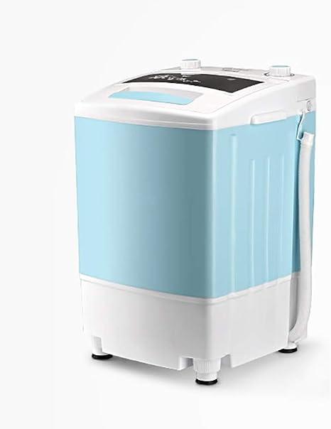 Lavadora Camping/Lavadora para Esponjas De Maquillaje/lavadoras Lavadora Turbina/Bajo Consumo Energético Y De Agua • Lavadora para Camping • Ideal para Estudiantes, Blue: Amazon.es