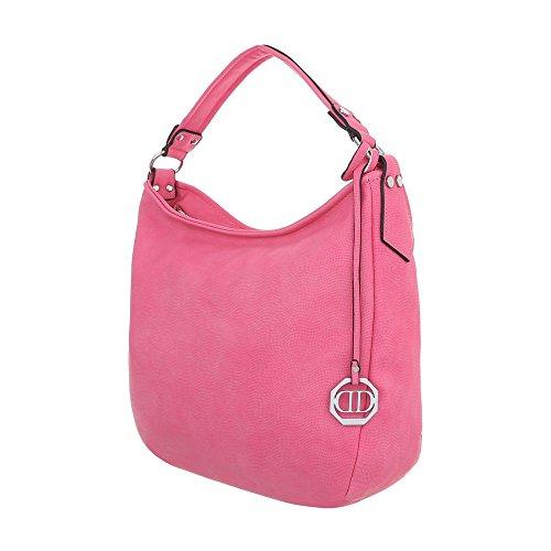 pour à à l'épaule Sac Rose porter Bonbon Design femme Ital gAWqfUvU